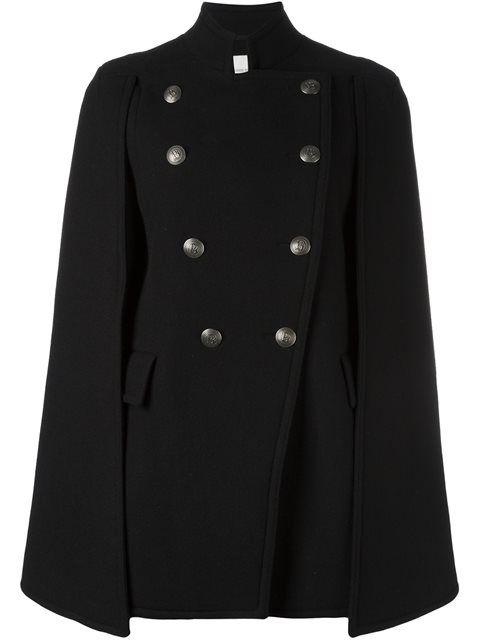 cb0e5e2381 PIERRE BALMAIN Military-Style Cape. #pierrebalmain #cloth #cape ...