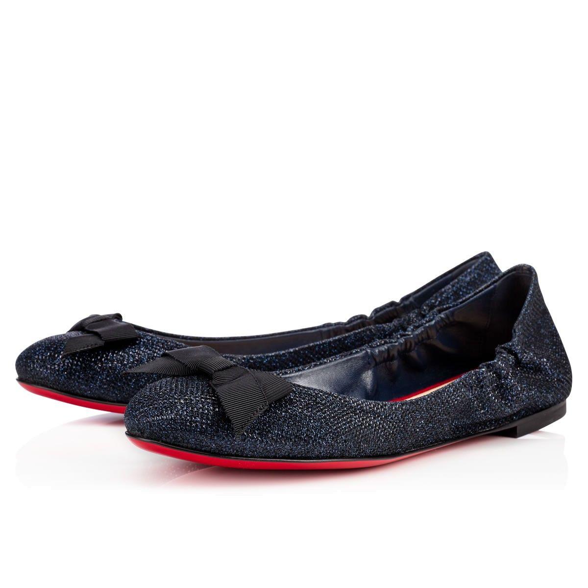 code promo 5567f cf5af Chaussures femme - Gloriana Flat Glitter Luminor - Christian ...