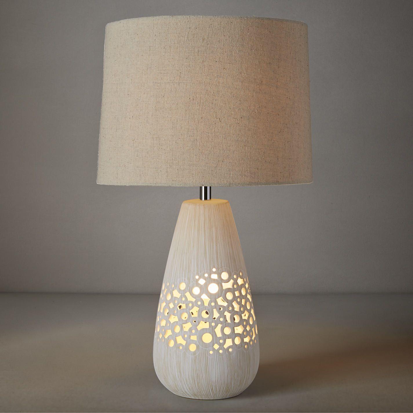 Lampa Unikat Keramicka Table Desk John Lewis Floor Lamps Garden Cottage Ceramic