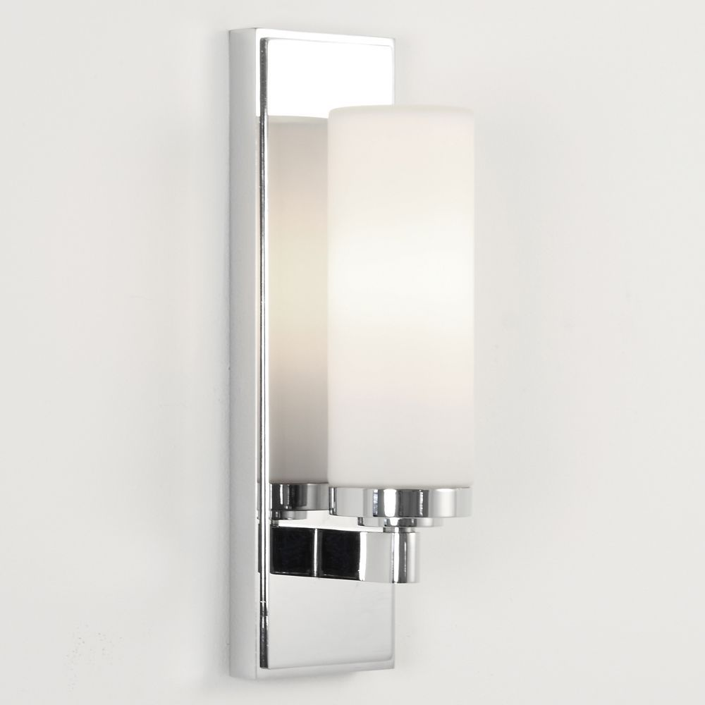 The Savio Ip44 Bathroom Wall Light Has A Polished Chrome Finish And Frosted Glass S With Images Bathroom Wall Sconces Bathroom Wall Lights Bathroom Mirror Lights