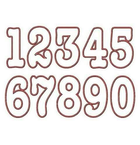 Número Moldes De Letras Abecedario Moldes De Letras Y