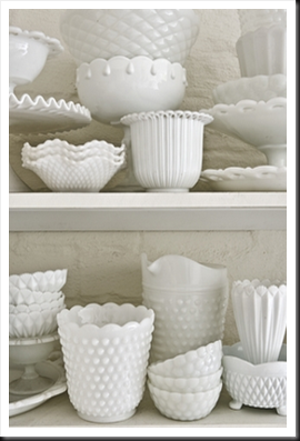 Milk Glass. Lovely colection
