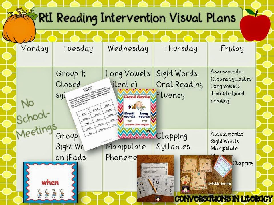 Rti Binders Tracking Progress Reading Intervention Activities