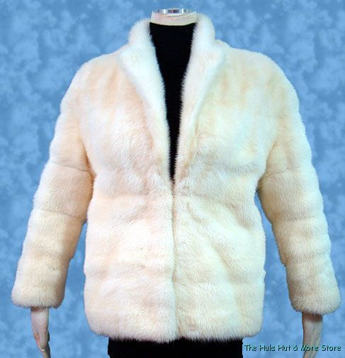 What better way to top your evening dress with a fur jacket.  This would look great even with jeans.    http://www.ebay.com/itm/Vintage-Superior-70s-GOLDEN-PEARL-Blonde-MINK-JACKET-Coat-S-XS-/221123960531?pt=Vintage_Women_s_Clothing=item337c03ded3