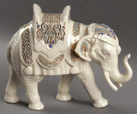 Lenox China Jewels Nativity Elephant New in Box Christmas