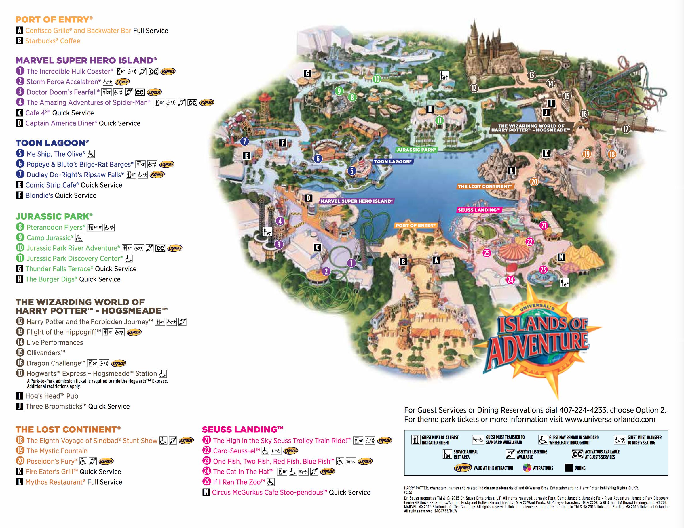 Islands Of Adventure Islands Of Adventure Universal Islands Of Adventure Island Of Adventure Orlando
