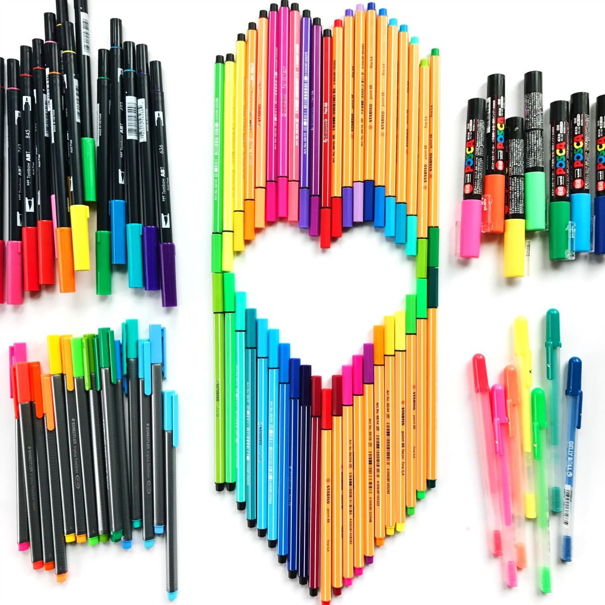 - Best Markers For Drawing, Doodling And Coloring Pen Doodles