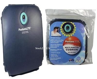 Self inflating seat,back,bone,coccyx pressure support foam travel cushion pillow