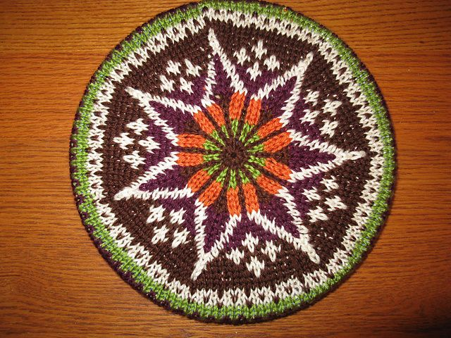 Ravelry: Fair Isle Tam pattern by Patons | Knitting: Hats & Other ...
