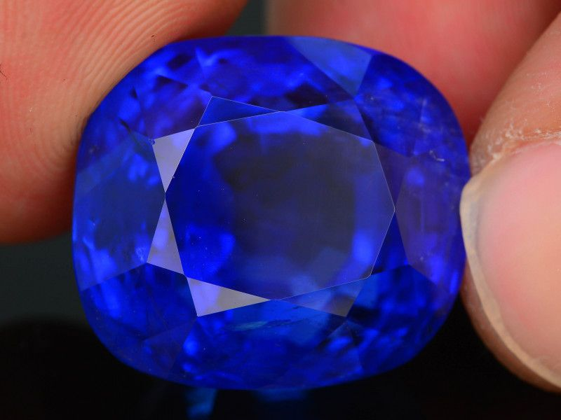 Aaa Grade Color 48 85 Ct Royal Blue Sapphire Blue Sapphire Rings Blue Gemstones Blue Sapphire