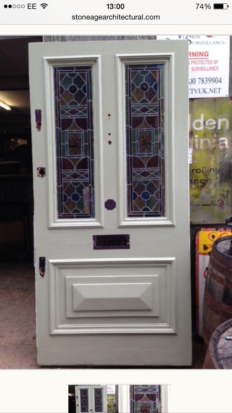 Edwardianvictorian Reclaimed Front Door Mamma Kombuis Pinterest