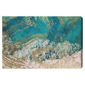Salt Water Canvas Print, Oliver Gal