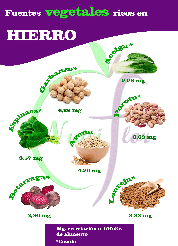 el hierro proteína
