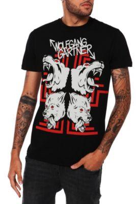 b2ed4d65504f72 Wolfgang Gartner Wolves Slim-Fit T-Shirt