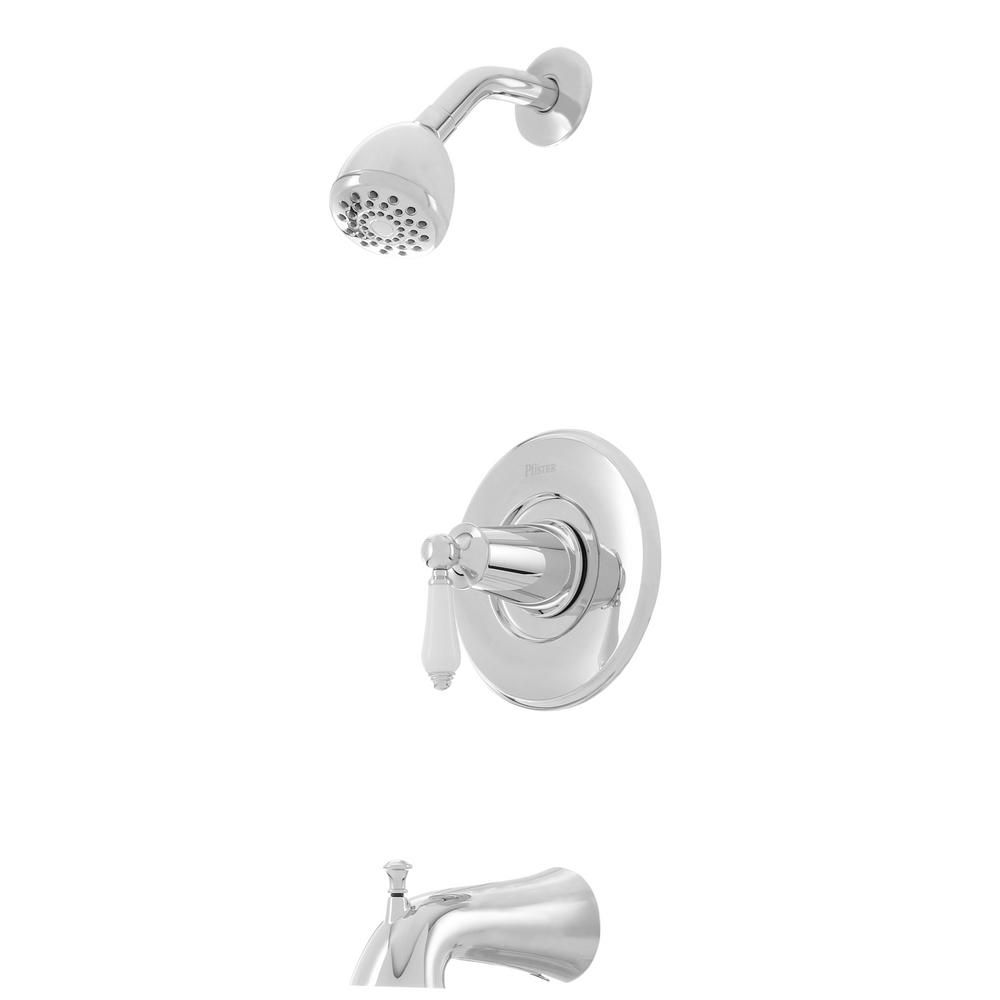 Pfister Courant Single Handle 1 Spray Tub And Shower Faucet In