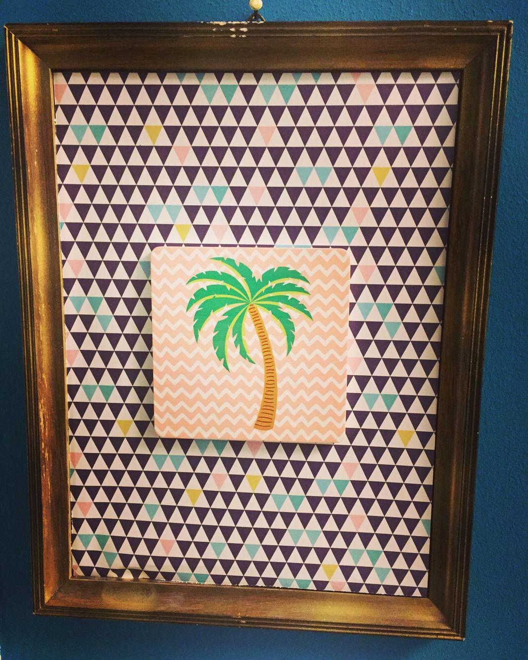 palme#sommer#bilderrahmen#DIY#   #Palme#Sommer#Bilderrahmen#   Pinterest