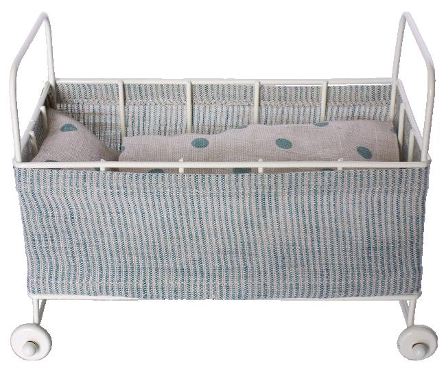 Maileg - Metal baby cot