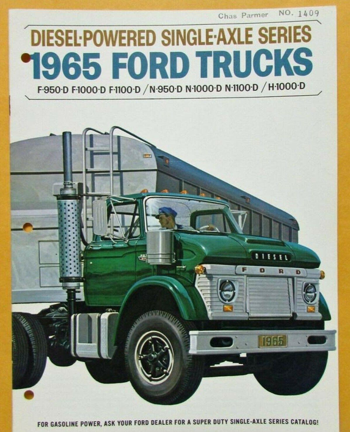 1965 Ford Truck Brochure In 2020 Trucks Ford Truck 1964 Ford