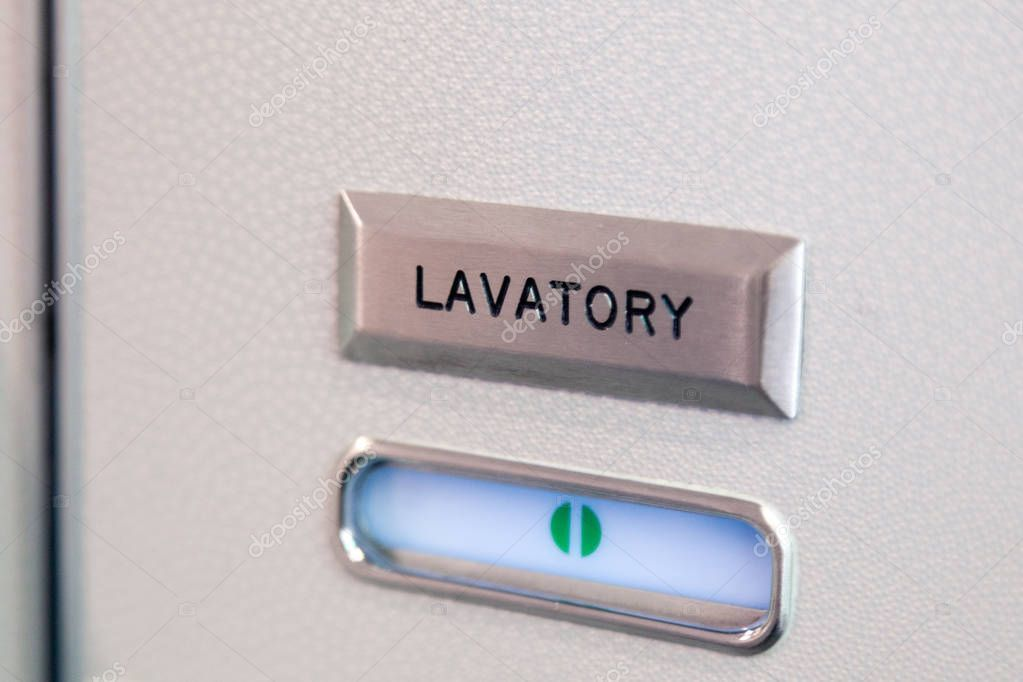 Vacant Green Sign Vacant Symbol On An Airplane Lavatory Door R Stock Ad Sign Vacant Vacant Green Lavatory Photoshop Actions Tutorial Toilet Room