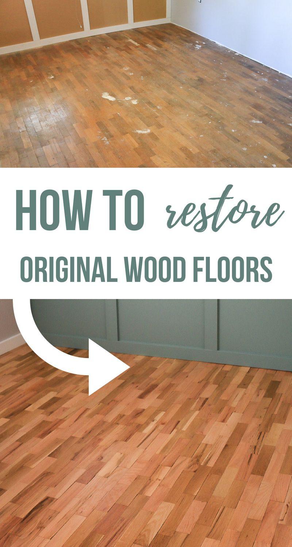 Hardwood Floor Refinishing For The Home Diy Flooring Diy Wood