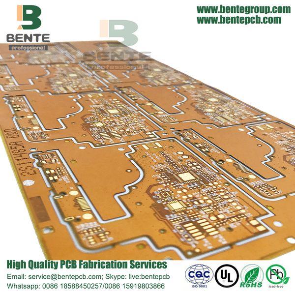 Rigid Flex Pcb Hybrid Pcb Service Flex Steel Sheet Manufacturing