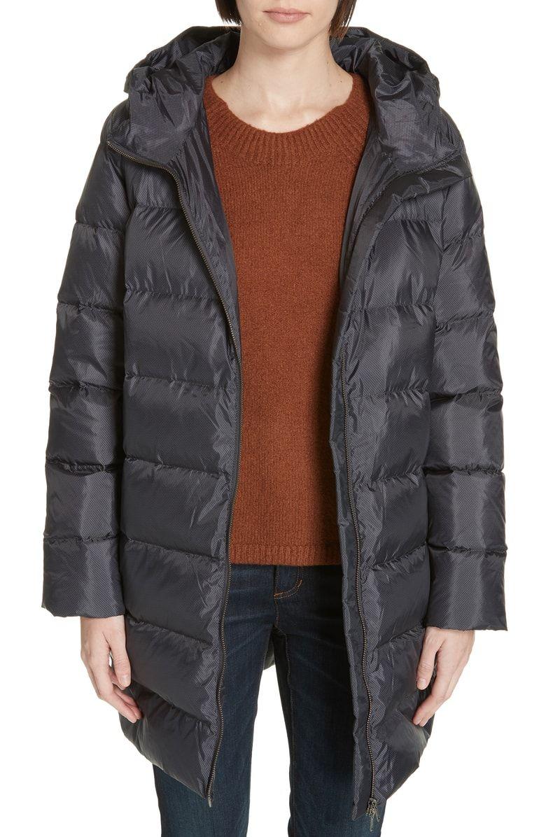 Eileen Fisher Hooded Down Cocoon Coat Regular Petite Nordstrom Coats Jackets Women Nordstrom Coats Eileen Fisher Clothes [ 1196 x 780 Pixel ]