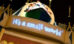 the song heard around the world...my favorite childhood memory of disney...(details of disney world attractions)