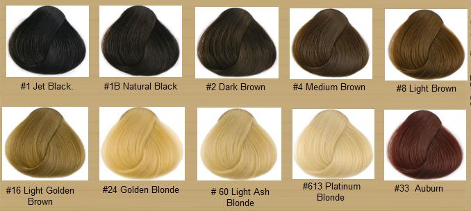 Hair Color Chart Fittex Bil Google