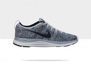 Chaussures Nike Flyknit Lunar 1+ mode courir Femme Arsenal Bleu Clair/ Bleu  Escadron /