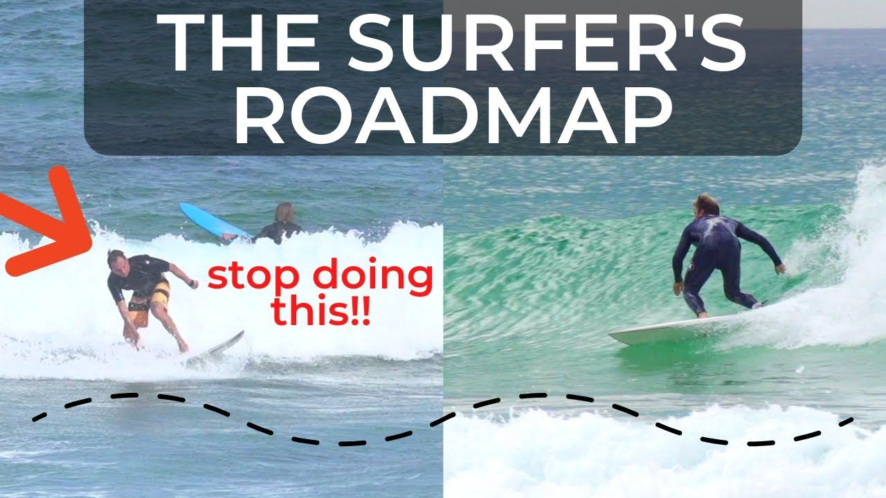 How To Surf From Beginner To Intermediate In 20 Minutes Step By Step T Surfing Surf Training Step Tutorials