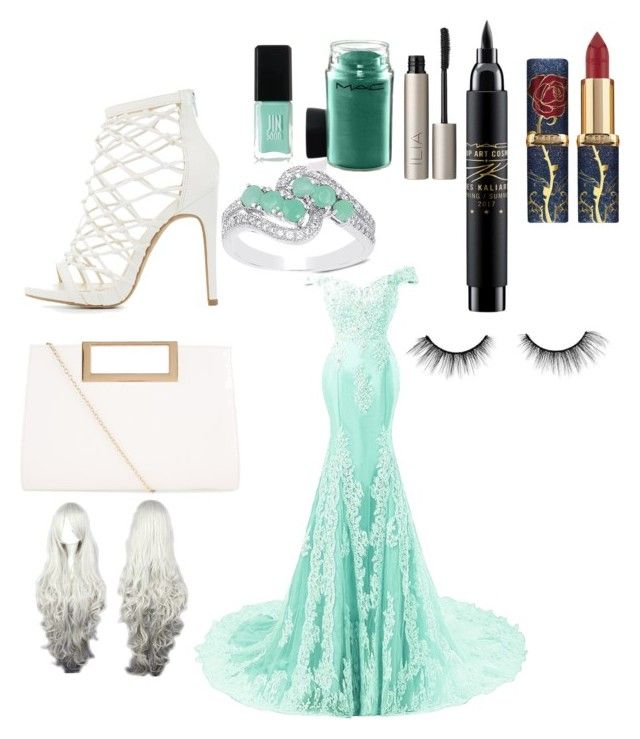 """""""eleganz"""" by svenja-spriegel ❤ liked on Polyvore featuring Charlotte Russe, New Look, Dolce Giavonna, JINsoon, MAC Cosmetics, Ilia and tarte"""