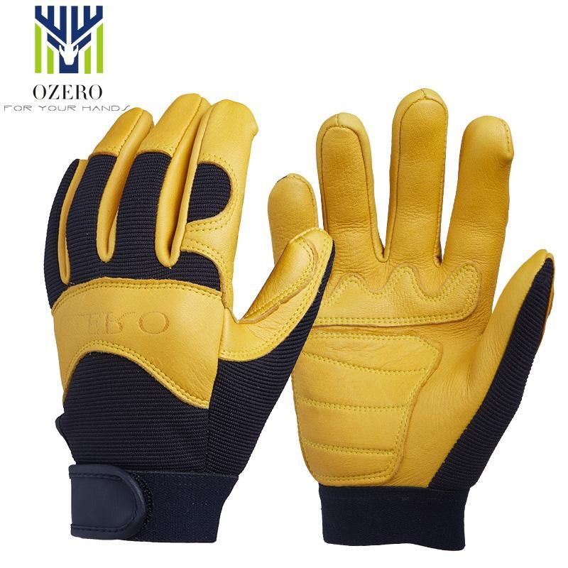 Visit To Buy Ozero Motorcycle Racing Gloves Deerskin Sports Warm Waterproof Anti Cold Anti Slip Snowboard Cycling Hiking For Work Gloves Gloves Leather Work Gloves