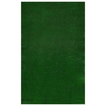 Sweet Home Meadowland Collection Indoor and Outdoor Green Artificial Grass Turf Area and Runner Rugs