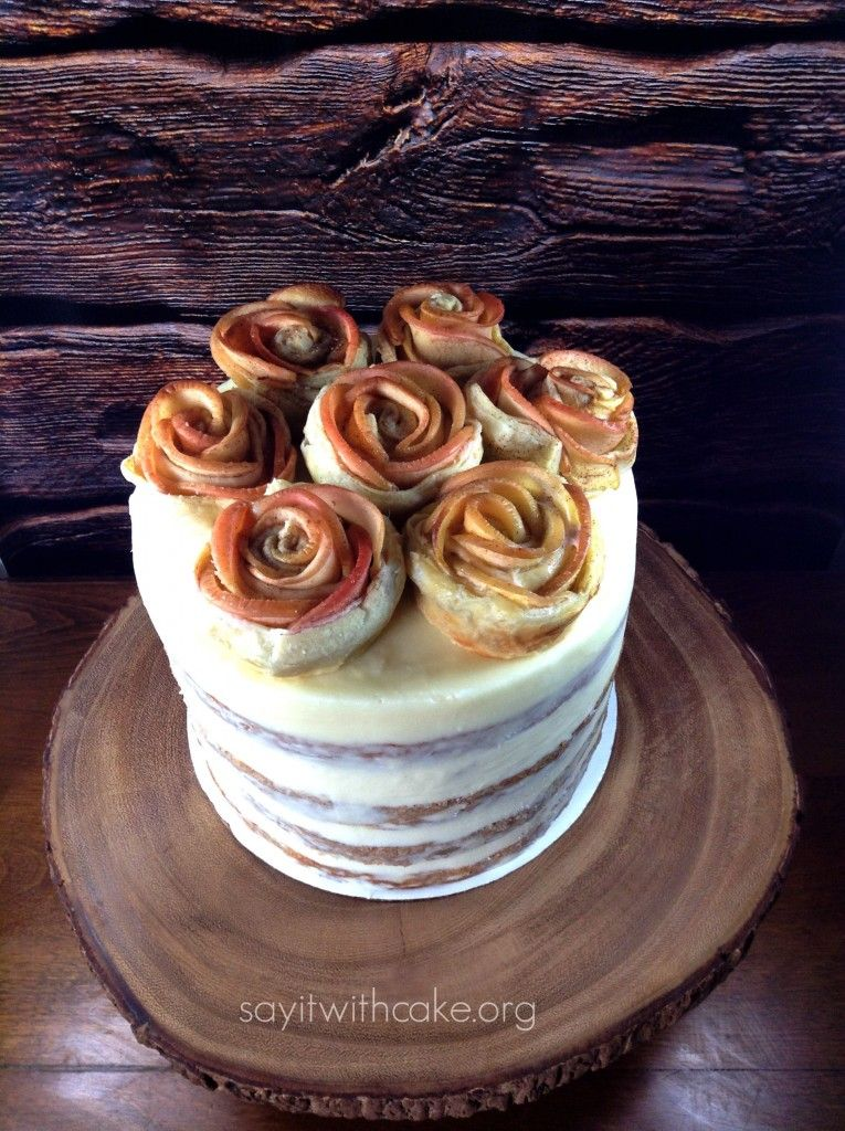 Apple Pie Layer Cake Recipe Whimsical Creations Pinterest