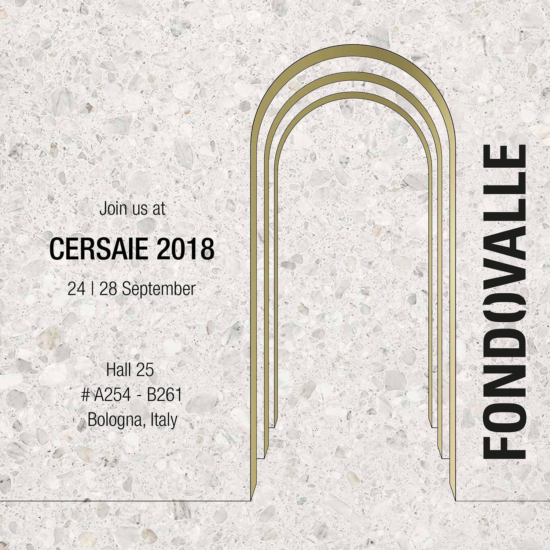 Fondovalle Ceramica Cersaie 2018 Silvestri Pavimenti Locandina 3 0