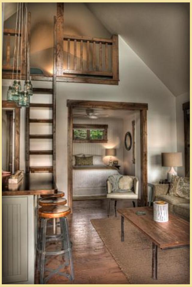 Prefer the non-loft bedroom...