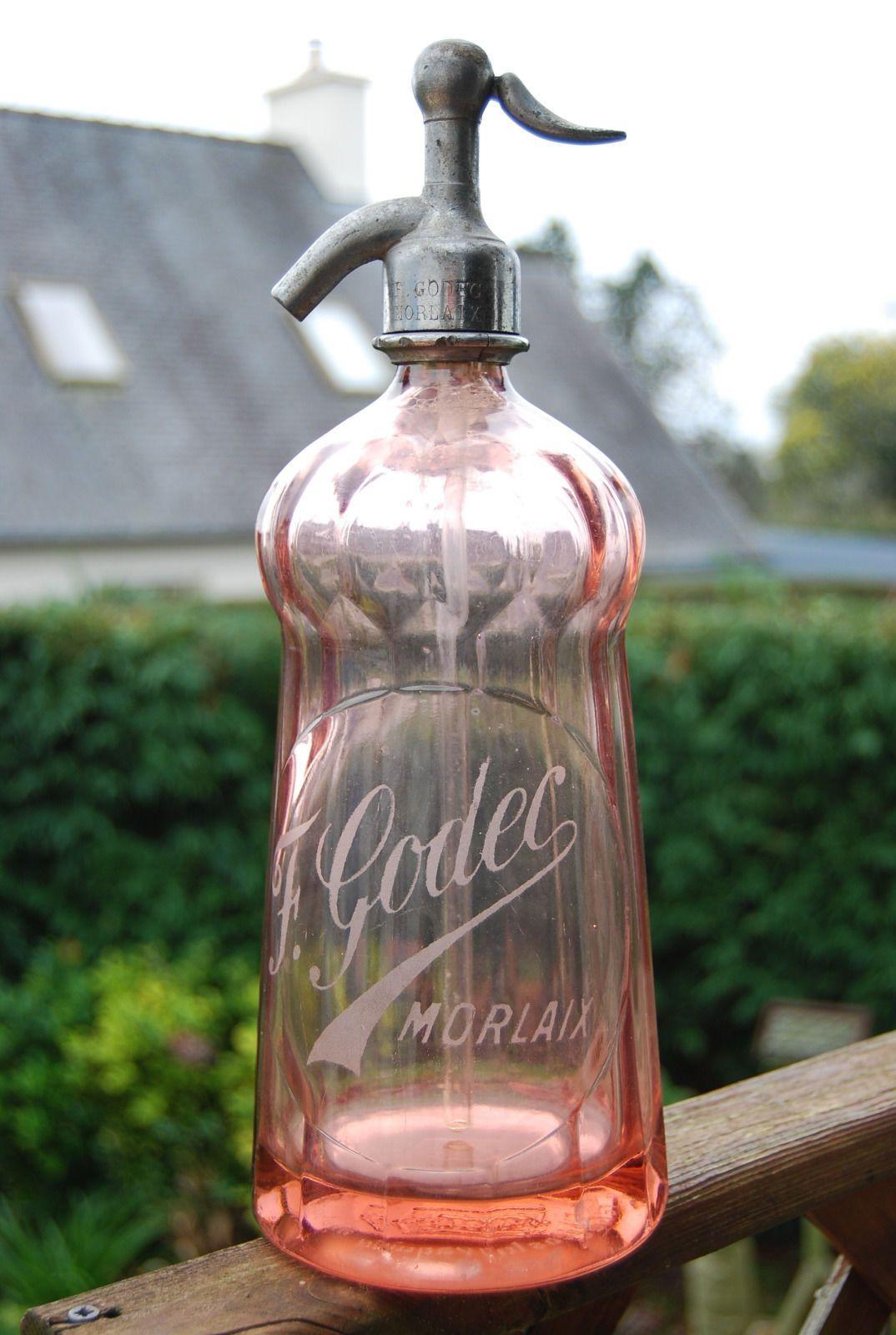 Bouteille Ancienne Siphon Marquise Morlaix | eBay | Glas | Pinterest ...