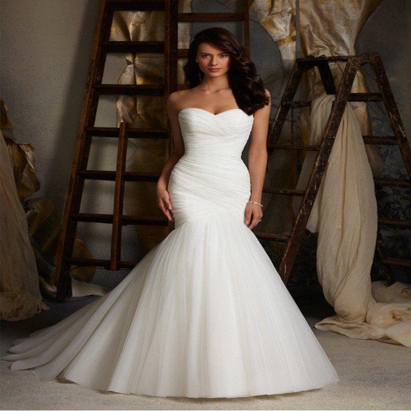 Boho wedding dress bohemian wedding dresses - sweetheart neckline ...
