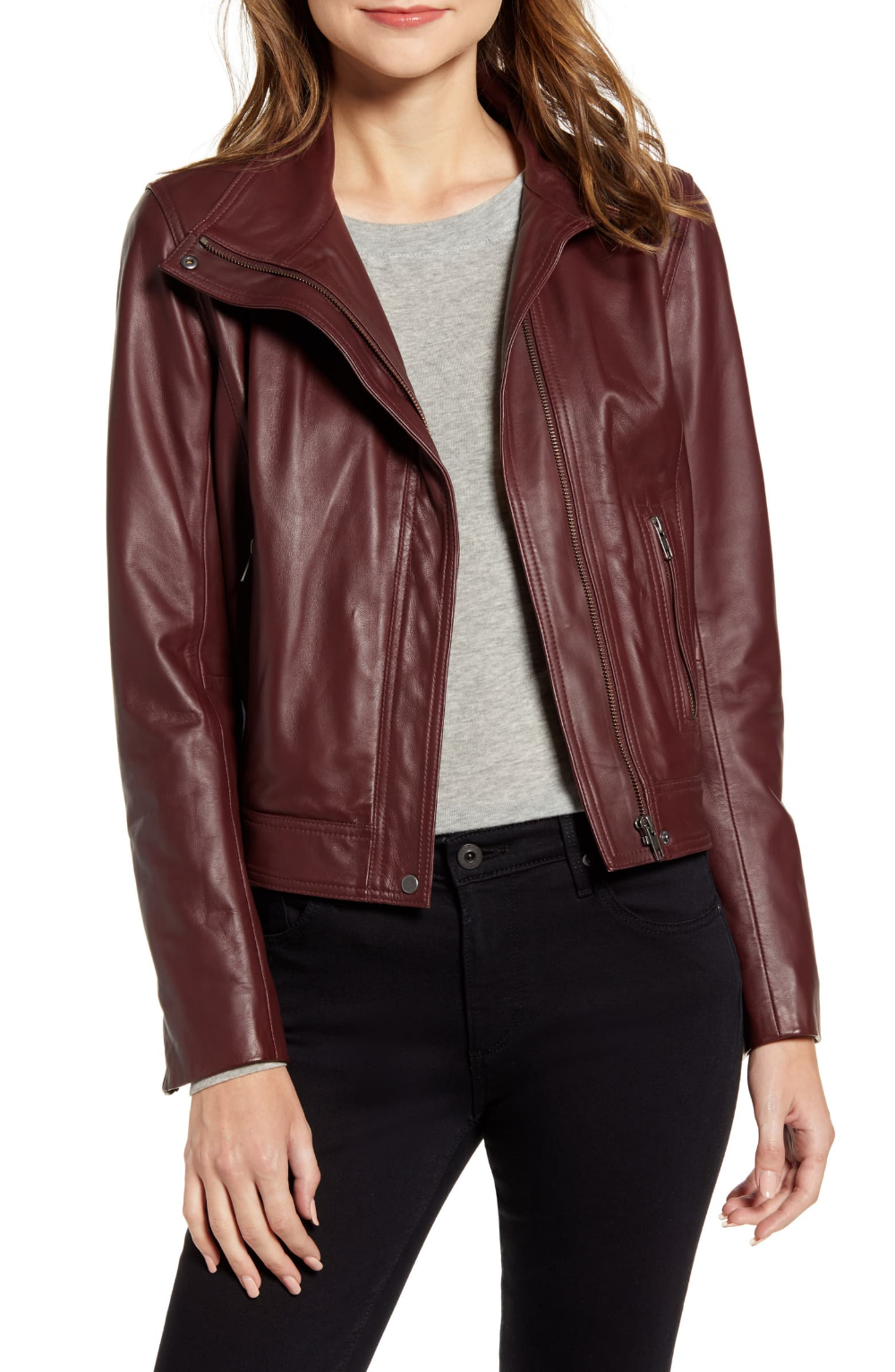 Chelsea 28 Leather Moto Jacket Nordstrom Leather Moto Jacket Fashion Clothes Women Moto Jacket [ 1533 x 1000 Pixel ]