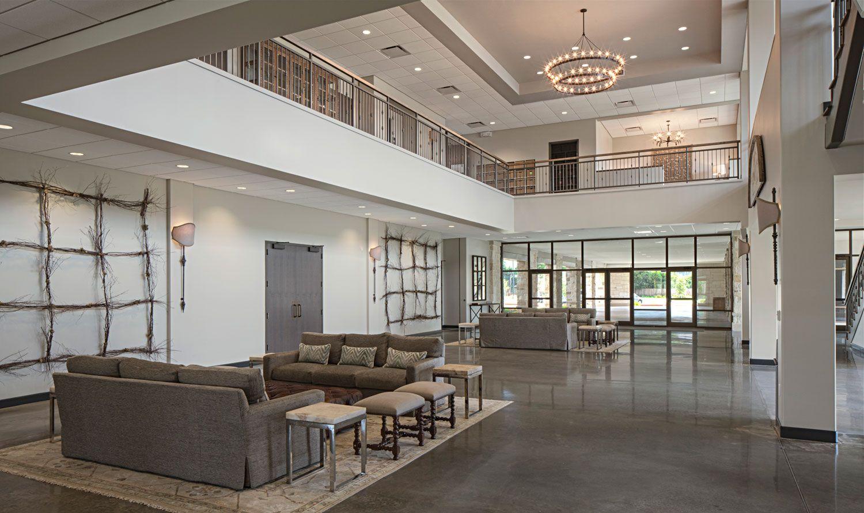 Interior Design For Church Lobbies Love The Wall Decor Church
