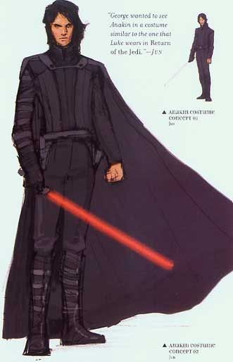 Anakin Concept Art Star Wars Characters Star Wars Concept Art Star Wars Jedi