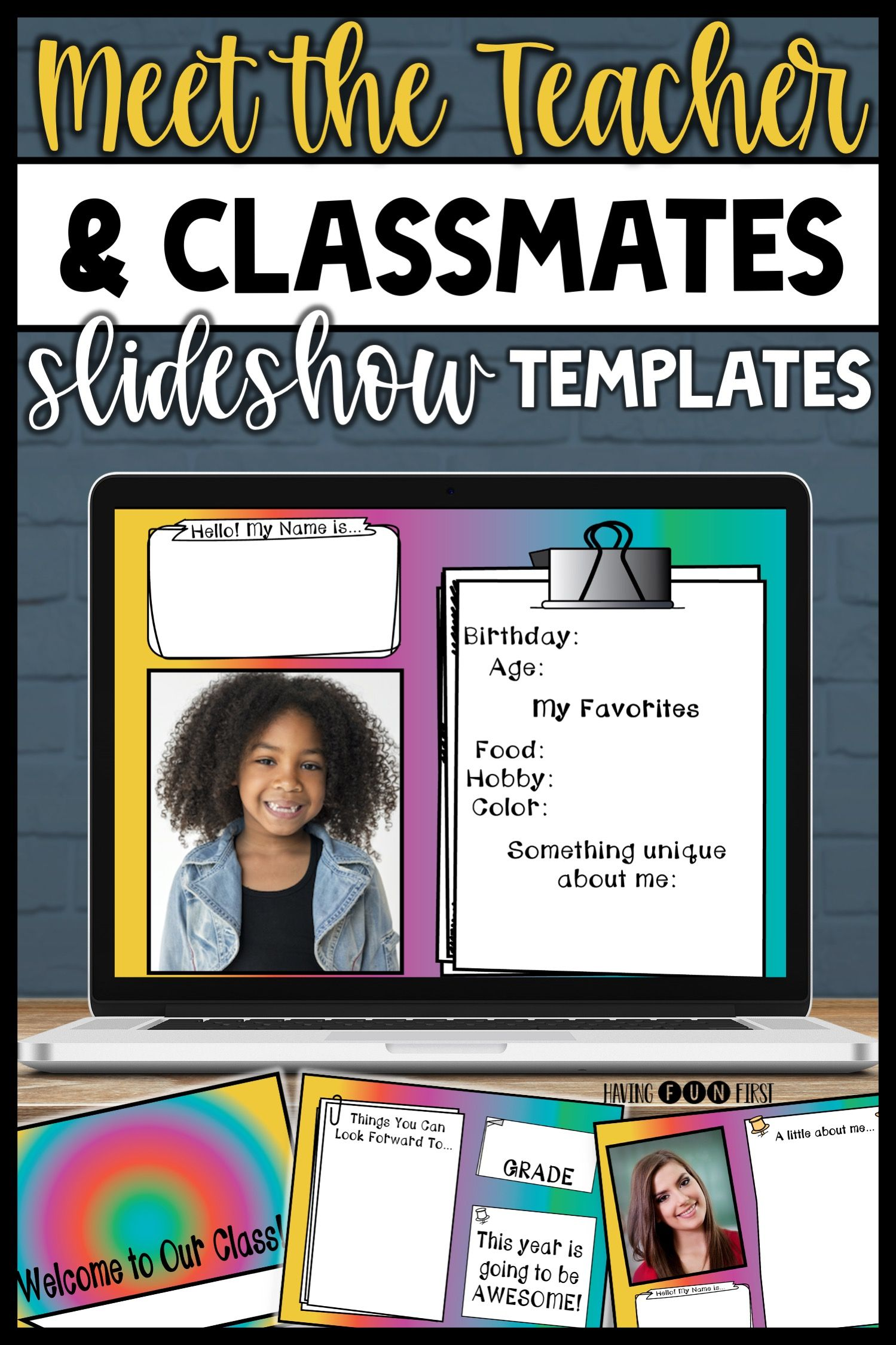 Pin On Having Fun First Tpt Resources
