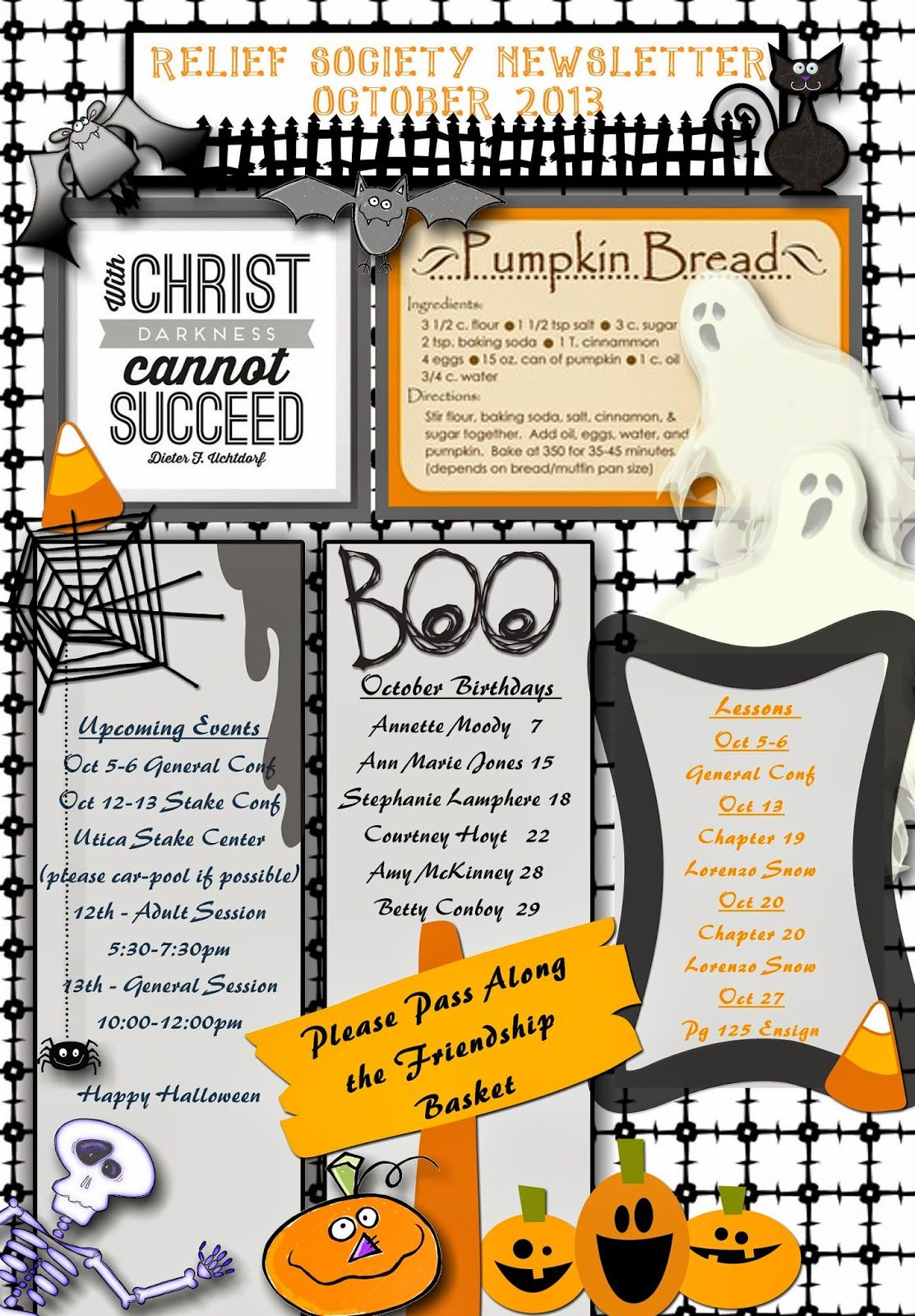 90b6297e76259a489e61c6c9bca81ad2 Teacher Pay Free Newsletter Template For Halloween on