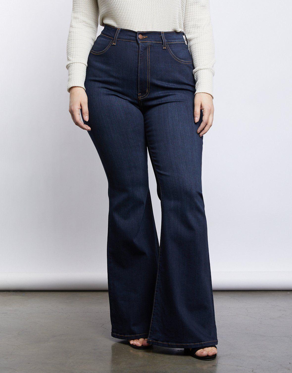 35+ Plus size bell bottom jeans ideas info