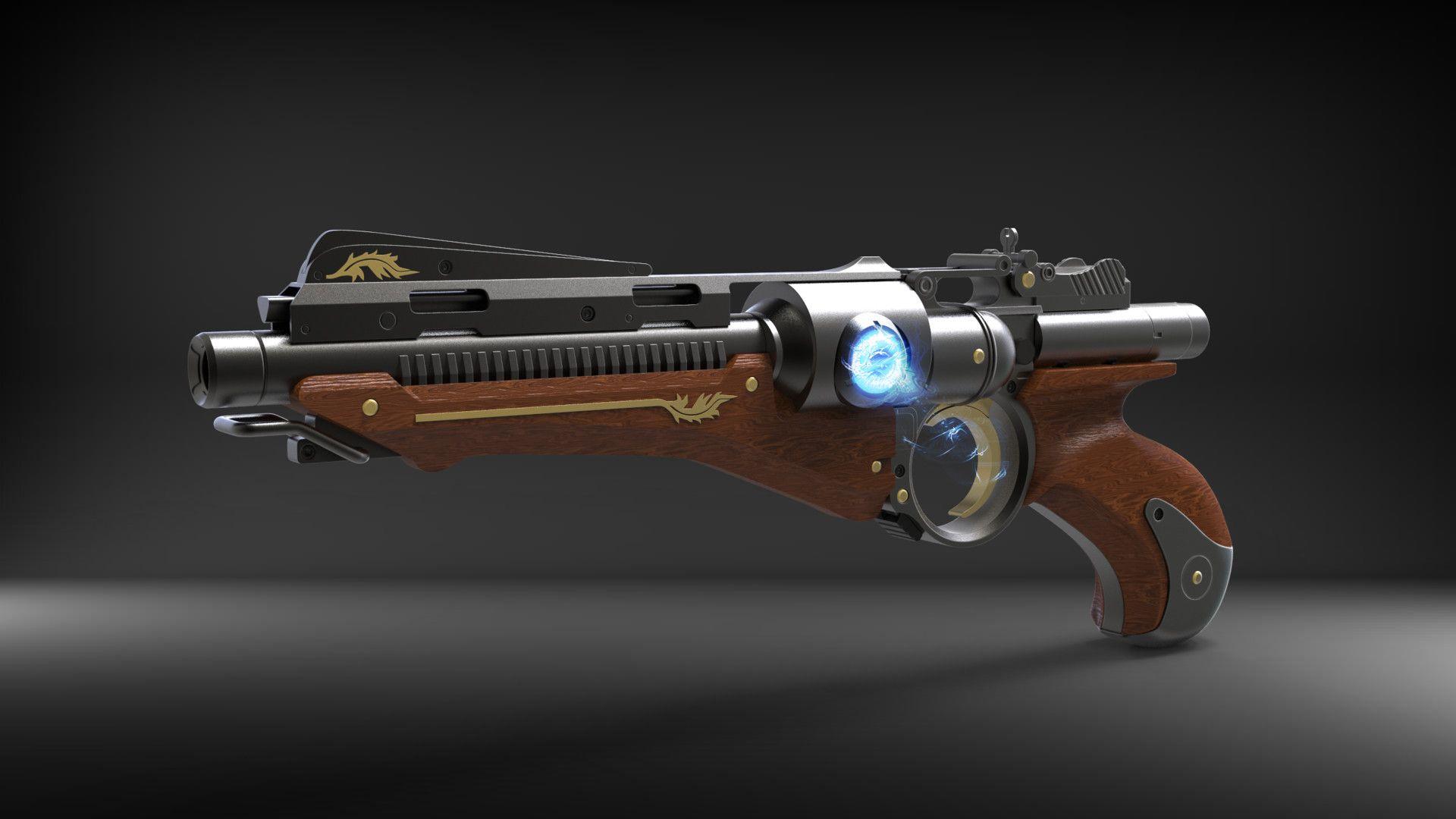 ArtStation - Energy Pistol - Pack model_Kris Thaler_01, Igor Rusanov Rekon
