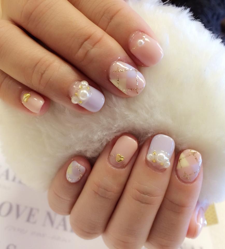 www.LoveNailsLV.com New design: Fairy Dream # nails ...