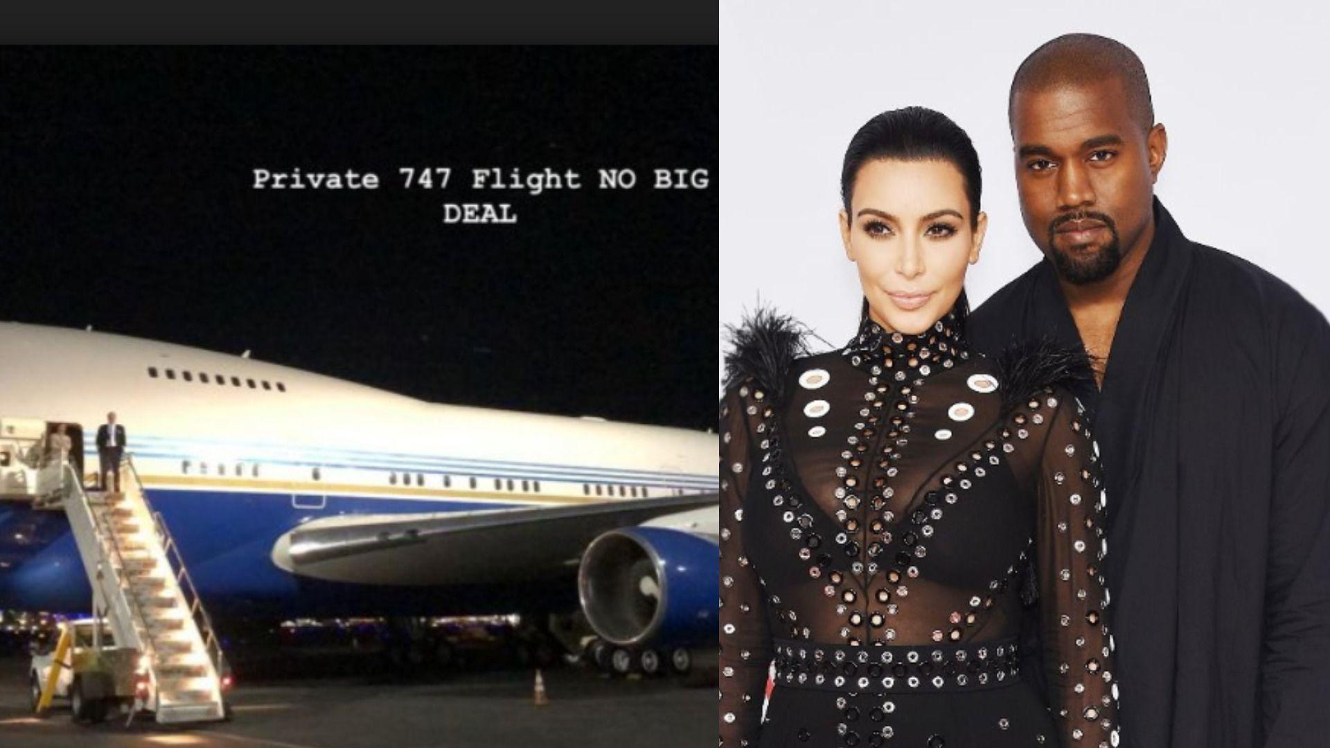 Working While Traveling Can Be A Real Hard Unless You Re Yeezy Kim Kardashian Posted On Her Instagram Story To Take All Her Fol Kim Kardashian Kardashian Kim
