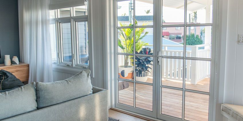 Hinged French Doors by Wideline. & Hinged French Doors by Wideline. | Toowoon Bay Reno | Pinterest ... pezcame.com