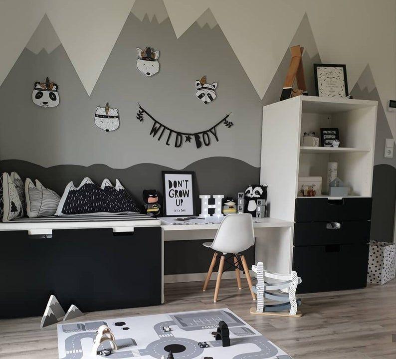 Photo of Berg Kissen – Set von 4, Berg skandinavischen Kindergarten. Kuschelspielzeug, skandinavischen Dekor, Kinderzimmer Kissen, Baby-Accessoires