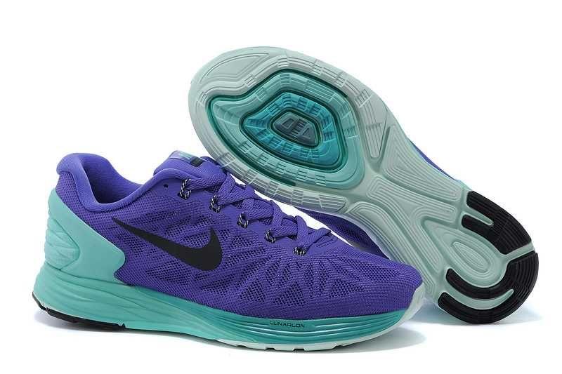lowest price fa811 27405 1767   Nike Lunarglide 6 Dam Grön Lila SE107560IEjLiF